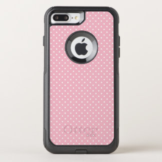 Create Your Own Tiny White Polka Dot OtterBox Commuter iPhone 7 Plus Case