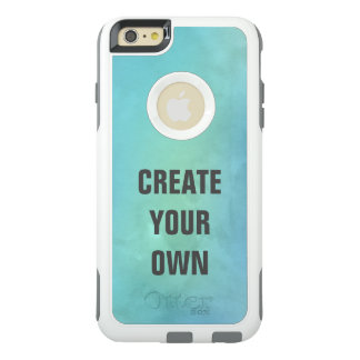 Create Your Own Turquoise Watercolor Painting OtterBox iPhone 6/6s Plus Case