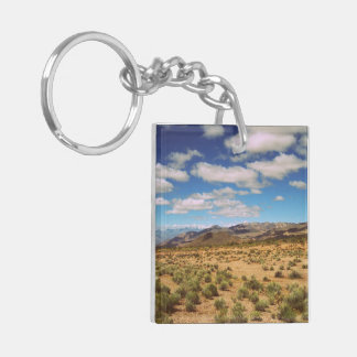 Create Your Own Two-Sided Double-Sided Square Acrylic Keychain