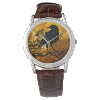 Create your own Unique Leather Strap Mens Wristwatches