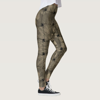 Create your own unique pair of woven stitched leggings