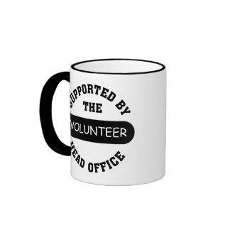 Create your own unique volunteer team gift mugs