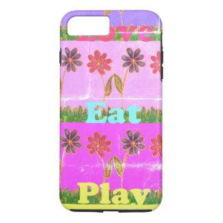 Create Your Own Vintage Hakunamatata Love Eat Play iPhone 8 Plus/7 Plus Case