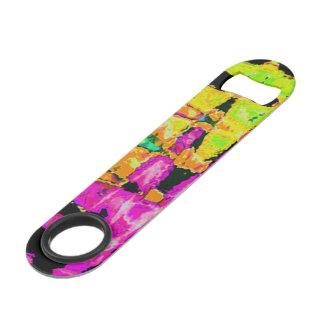Create Your Own Vivid Pink Water colors art design Bar Key