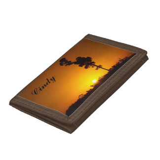 Create your own wallet - Australian outback sunset