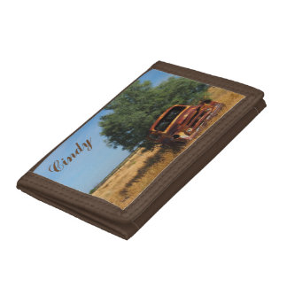Create your own wallet - Australian outback truck