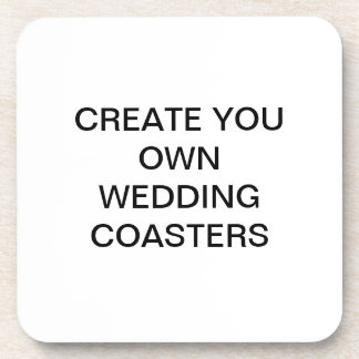 Create Your Own Wedding Coaters Coaster