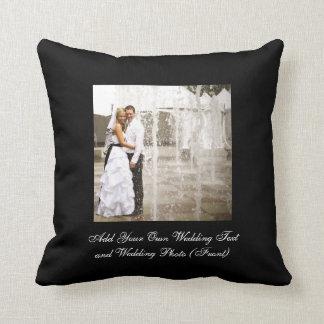 Create Your Own Wedding Photo Keepsake Pillows