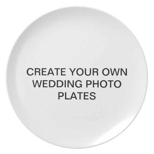 Create Your Own Wedding Photo Plates