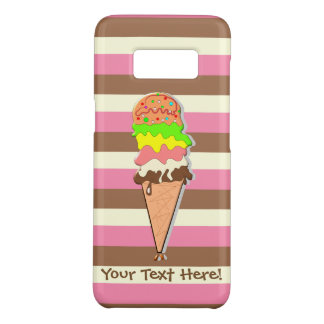 Create Your Own - Whimsical Neapolitan Stripes Case-Mate Samsung Galaxy S8 Case