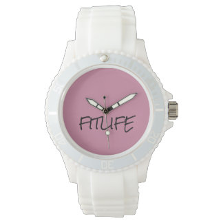 CREATE YOUR OWN WOMEN'S SPORTY SILICON WATCH