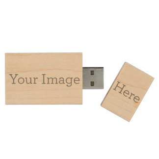 Create Your Own Wood USB 2.0 Flash Drive