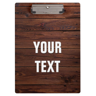 Create Your Own Wooden Floor Look Clipboard