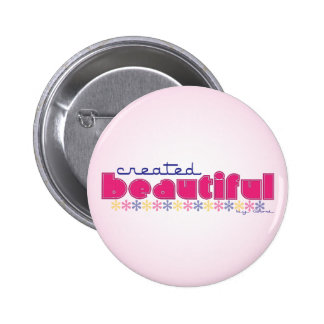 Created Beautiful (by God) button
