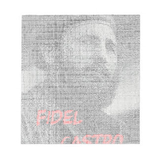 Created with the word Fidel Alejandro Castro Ruz. Notepad