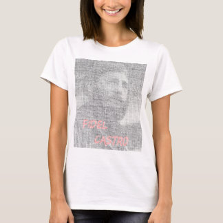 Created with the word Fidel Alejandro Castro Ruz. T-Shirt