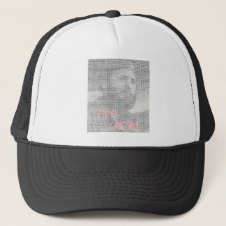 Created with the word Fidel Alejandro Castro Ruz. Trucker Hat