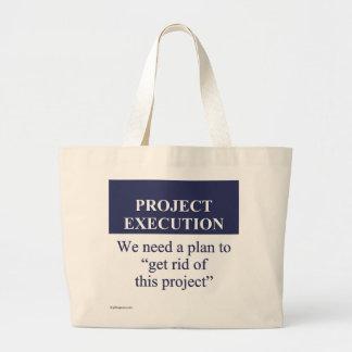 Creating a Project Execution Plan (3) Jumbo Tote Bag