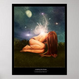 creating fairies poster