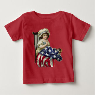 Creating the Flag Baby T-Shirt