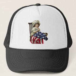 Creating the Flag Trucker Hat