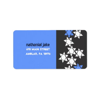 Creation Bar Bat Mitzvah Print your own label