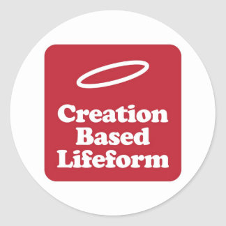 Creation Based Lifeform Sticker