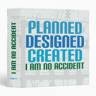 Creation binder: Planned Designed Created Binder
