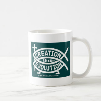 Creation Evolution Coffee Mug