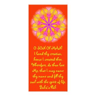 Creation Hidden Words Quote Rack Card