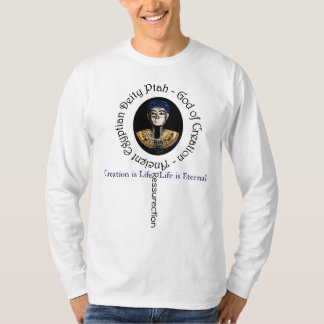 Creation is Life- Egyptian Deity Ptah T-Shirt