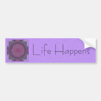 Creation Mandala Bumper Sticker
