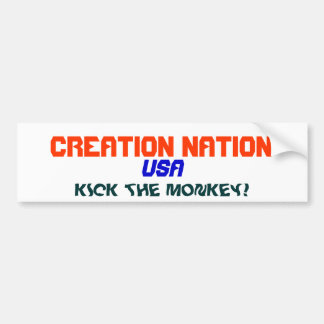 CREATION NATION BUMPER STICKER