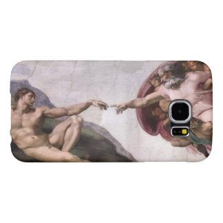 Creation of Adam by Buonarroti Michelangelo Samsung Galaxy S6 Cases