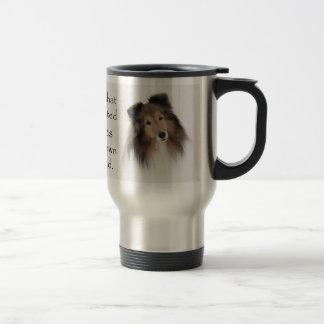 Creation of Shelties Travel Mug