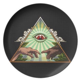 Creation Party Plates