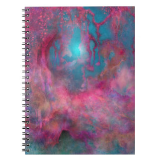 Creation Playground Fantasy World Spiral Notebook