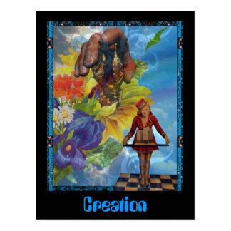 Creation Postcard