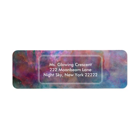 """Creation"" Return Address Labels"