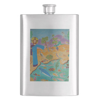Creation: The Fifth Day Flask