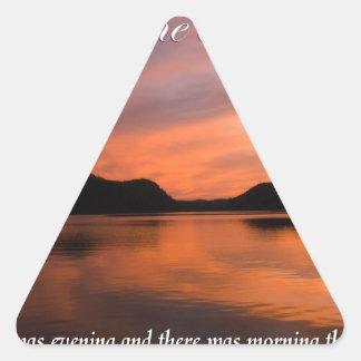 Creation Triangle Sticker