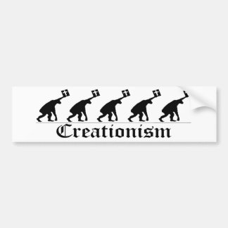 Creationism Bumper Sticker