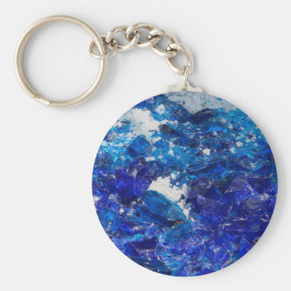 créations artistiques avec le verre porte-clé rond
