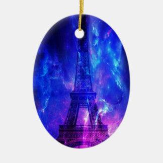 Creation's Heaven Paris Amethyst Dreams Ceramic Oval Ornament