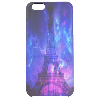 Creation's Heaven Paris Amethyst Dreams Clear iPhone 6 Plus Case