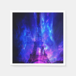 Creation's Heaven Paris Amethyst Dreams Paper Napkin