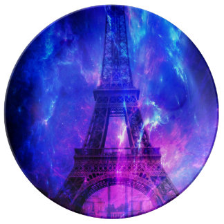 Creation's Heaven Paris Amethyst Dreams Porcelain Plate