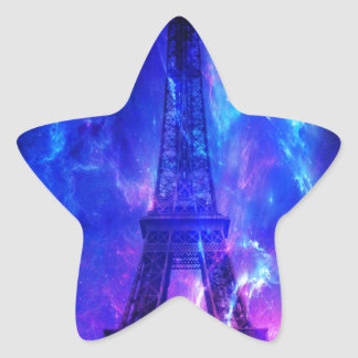Creation's Heaven Paris Amethyst Dreams Star Sticker