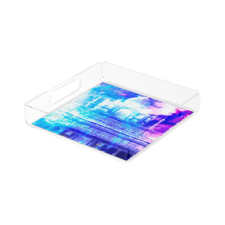 Creation's Heaven Taj Mahal Dreams Acrylic Tray