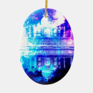 Creation's Heaven Taj Mahal Dreams Ceramic Ornament